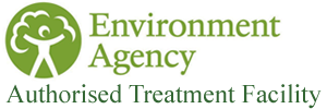 Wheal Alfred Metals is Licensed by the Environment Agency as an Authorised Treatment Facility.